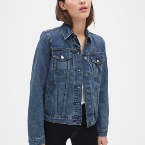 Gap Mandarin Collar Jacket | S